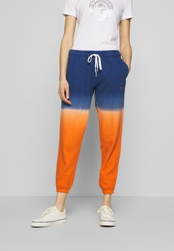 Polo Ralph Lauren - ANKLE PANT - Jogginghose - navy/orange ombre