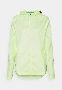 Nike Performance - RUN JACKET - Chaqueta de deporte - barely volt/reflective silver