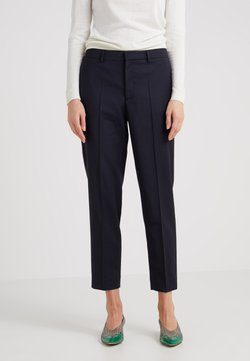 Filippa K - EMMA CROPPED COOL TROUSER - Pantalon classique - dark navy