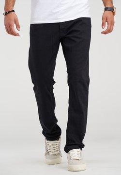 Jack & Jones - CLARK JJARIS  - Jeans Straight Leg - black denim