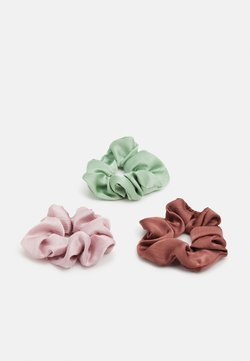 Pieces - PCMADELINNA SCRUNCHIE 3 PACK - Accessori capelli - ambrosia/rose/purple