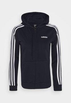adidas Performance - veste en sweat zippée - legend ink/white