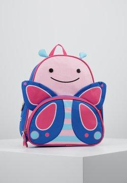 Skip Hop - ZOO BACKPACK BUTTERFLY - Tagesrucksack - pink