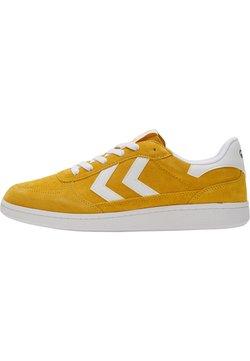Hummel - VICTORY - Sneaker low - cream gold