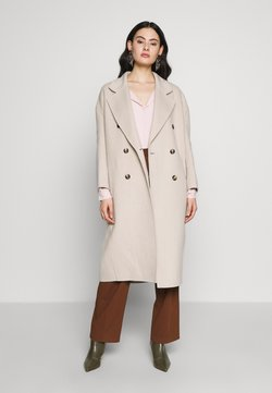 American Vintage - DADOULOVE - Classic coat - greige