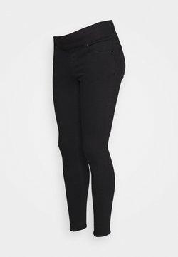 Topshop Maternity - JAMIE CLEAN  - Jeans Skinny Fit - black