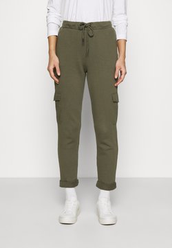 edc by Esprit - COO DYE PANTS - Jogginghose - khaki green