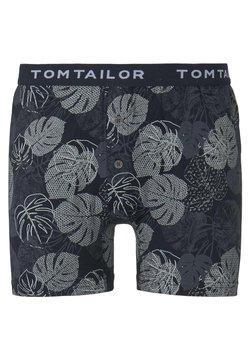 TOM TAILOR - UNDERWEAR GEMUSTERTE BOXER-SHORTS - Shorty - blue-dark-allover