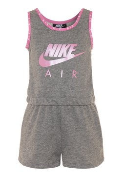 Nike Sportswear - GIRLS AIR ROMPER - Combinaison - carbon heather
