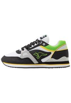 KangaROOS - SHIELD  - Sneaker low - semi grey/jet black