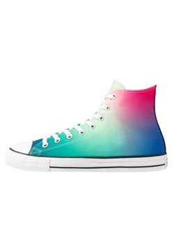 Converse - CHUCK TAYLOR ALL STAR - Sneaker high - white/game royal/cerise pink