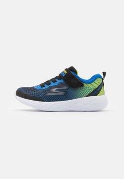 Skechers Performance - GO RUN 600 FARROX UNISEX - Laufschuh Neutral - black /lime/blue
