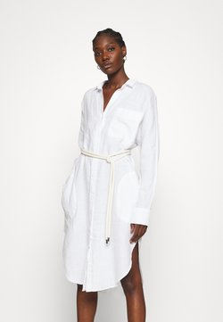 Replay - DRESS - Vestido camisero - optical white