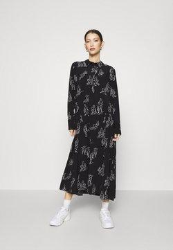Monki - ADA DRESS - Paitamekko - black