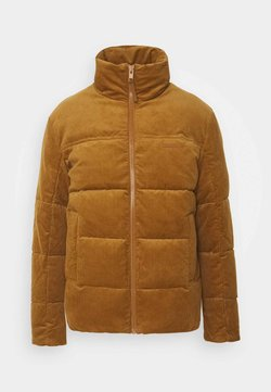 Jack & Jones - JORCORDUROY PUFFER - Winterjacke - rubber