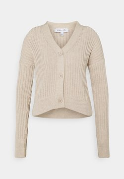 NU-IN - CROPPED CARDIGAN - Vest - light beige