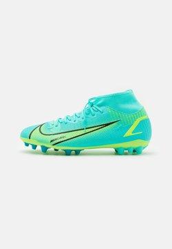 Nike Performance - MERCURIAL 8 ACADEMY AG - Korki Lanki - dynamic turq/lime glow