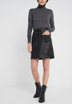 Steffen Schraut - LUXURY SKIRT - A-line skirt - black