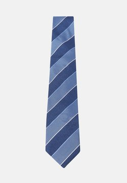 Tommy Hilfiger - STRIPE TIE - Krawatte - blue