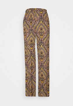 ONLY Tall - ONLVIDE WIDE PANT - Stoffhose - golden spice/spicy boho