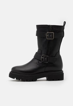 Marc O'Polo - UNDER - Plateaustiefel - black