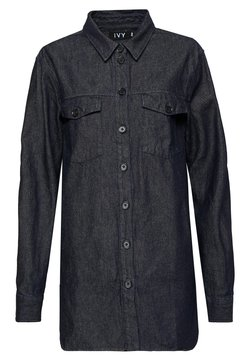 Ivy Copenhagen - CALLI SHIRT - Button-down blouse - denim blue