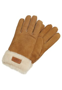 UGG - TURN CUFF GLOVE - Fingerhandschuh - chestnut