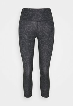 Nike Performance - RUN FAST CROP - Tights - black