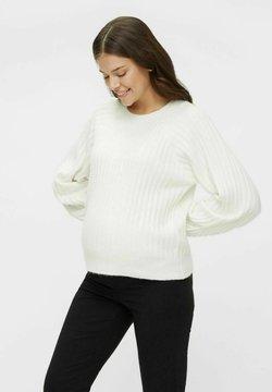 MAMALICIOUS - Jersey de punto - bright white