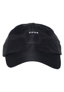 CODE | ZERO - TRIM CAP MIT KLETTVERSCHLUSS - Cap - jet black