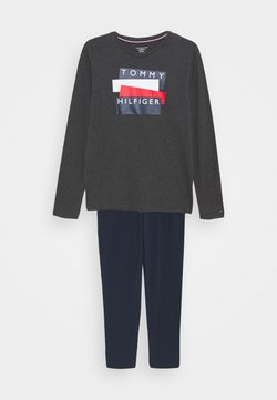 Tommy Hilfiger - GRAPHIC PRINT SET - Pyjama - grey