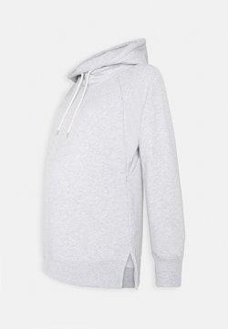 GAP Maternity - NURSING HOODIE - Jersey con capucha - heather grey