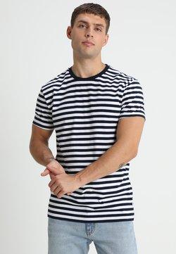 Samsøe Samsøe - PATRICK - T-Shirt print - sapphire/white