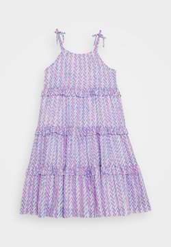 J.CREW - ELISE LONG DRESS - Freizeitkleid - pink peri
