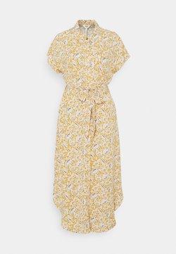 Object - OBJMARIE DRESS - Blusenkleid - honey mustard