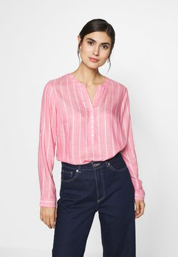 TOM TAILOR - STRUCTURED BLOUSE - Bluse - pink