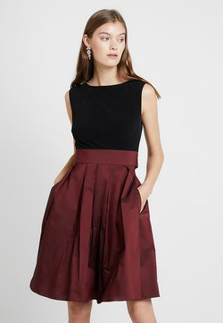 Swing - Cocktail dress / Party dress - dark red