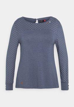 Ragwear Plus - MALITA PLUS - Langarmshirt - blue