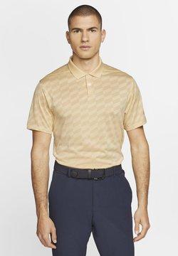 Nike Golf - DRY VAPOR WING - Funktionsshirt - celestial gold/pale vanilla/celestial gold