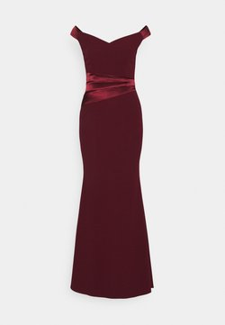 WAL G. - SELENE BAND MAXI - Ballkleid - wine