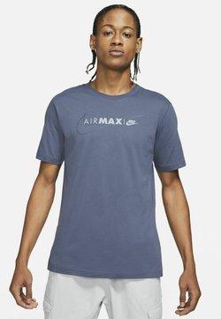 Nike Sportswear - AIR MAX  - T-Shirt print - thunder blue