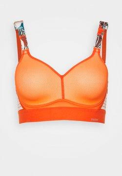triaction by Triumph - HYBRID LITE - Sujetadores deportivos con sujeción alta - orange