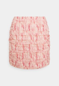 CMEO COLLECTIVE - WHIRL SKIR - Minirock - pink burnout