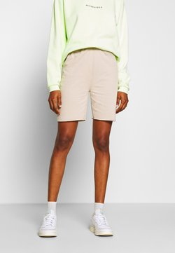 Missguided - LONGLINE - Shorts - nude