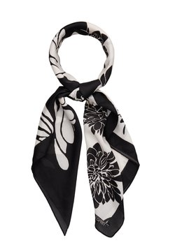 Esprit - FLOWERMIX - Tuch - black