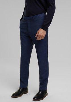Esprit Collection - Anzughose - blue