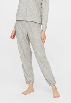 Pieces - Jogginghose - light grey melange