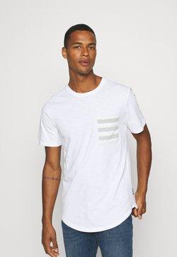 Only & Sons - ONSVANE LIFE LONGY POCKET TEE - T-Shirt print - white