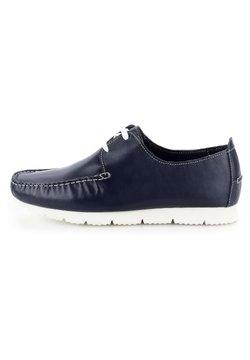 PRIMA MODA - LANDRO - Bootsschuh - navy blue
