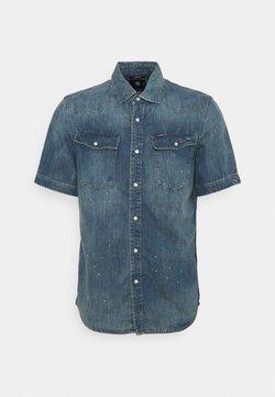 G-Star - SLIM SHIRT  - Overhemd - blue denim